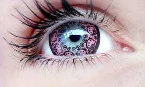 Hello Kitty Colored Contacts