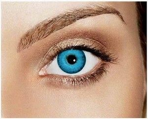 Blue Contacts