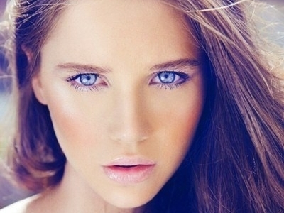Blue-eyed girl