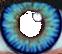 Blue Contact Lens